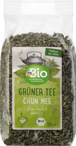 Bio Grüner Tee Chun Mee 100 g